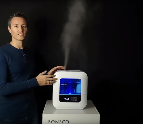 U700 BONECO Humidifier Ultrasonic Design Video Manfred Fitsch