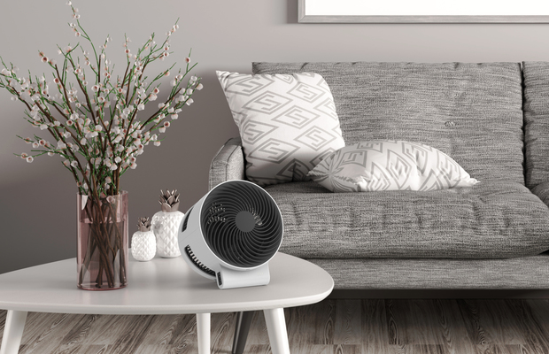 F100 Air Shower Fan BONECO Living Room