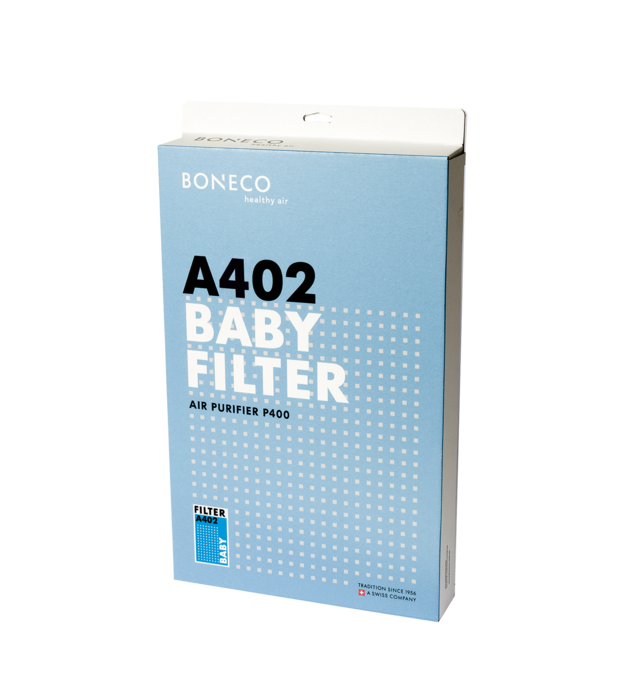 A402 P400 BONECO BABY Filter packaging