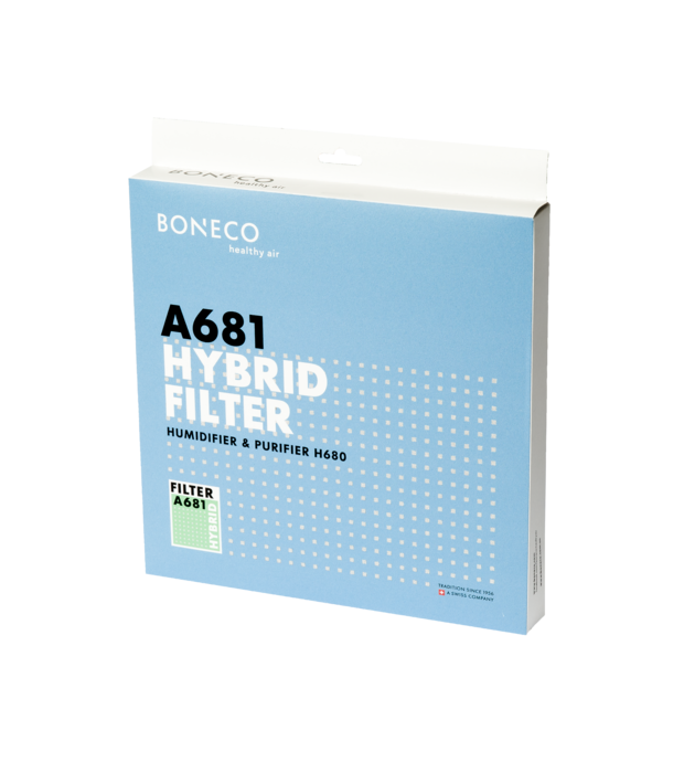 A681 Filter BONECO H680 packaging