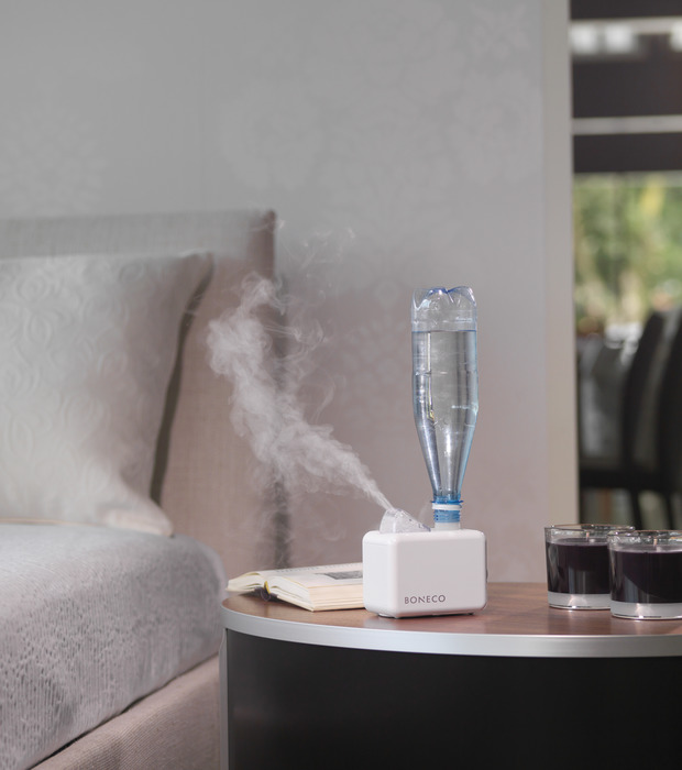 7146 Travel Humidifier Ultrasonic BONECO Bed Room