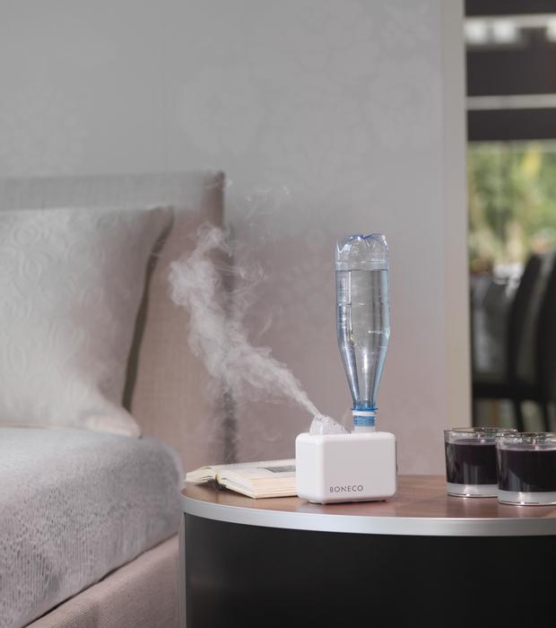 7146 Travel Humidifier Ultrasonic BONECO Bed Room