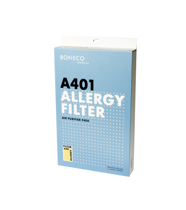 A401 P400 Allergy Filter BONECO packaging