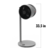 F225_Air_Shower_Fan_BONECO_US_Dimension